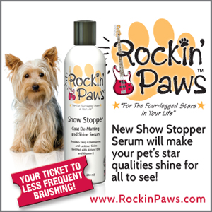 Rockin Paws pet grooming products